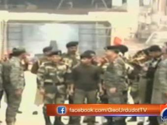 Video: Pakistan returns Indian soldier as goodwill gesture