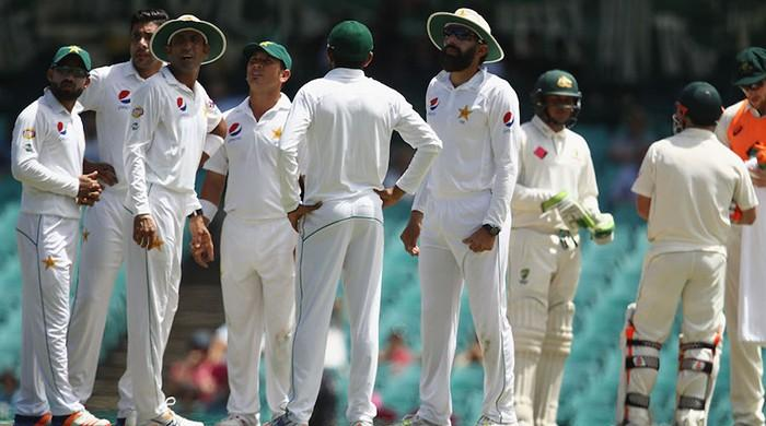 Pakistan slips to No. 6 in ICC test rankings