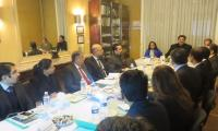 Khurram chairs trade officers' moot in Brussels as Pakistan's exports to EU increase