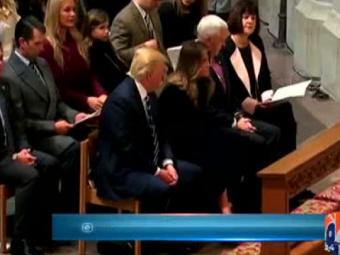 Special Report - Viral video of icy interaction between Donald, Melania at inauguration is real 24-January-2017