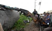 India blames Pakistan for four train accidents