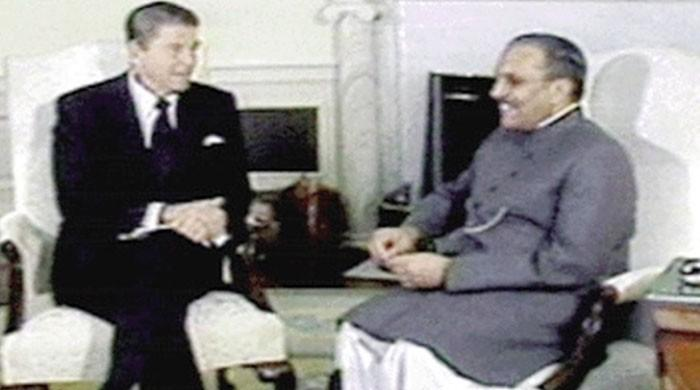 Zia assured Reagan Pakistan would not build nuclear weapons, CIA documents reveal