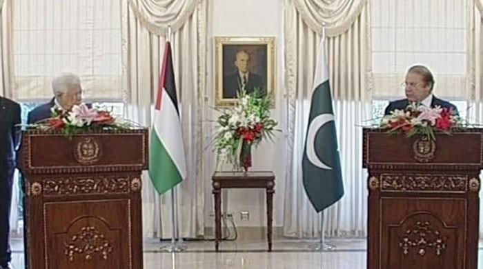 PM urges int'l community to resolve Palestine issue