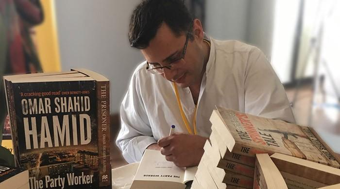 Omar Shahid  Hamid's 'The Party Worker' packs the hall at KLF