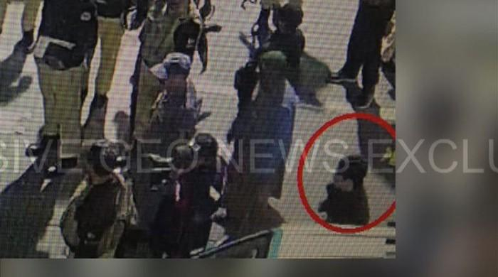 Geo News obtains CCTV video of Lahore suicide attack
