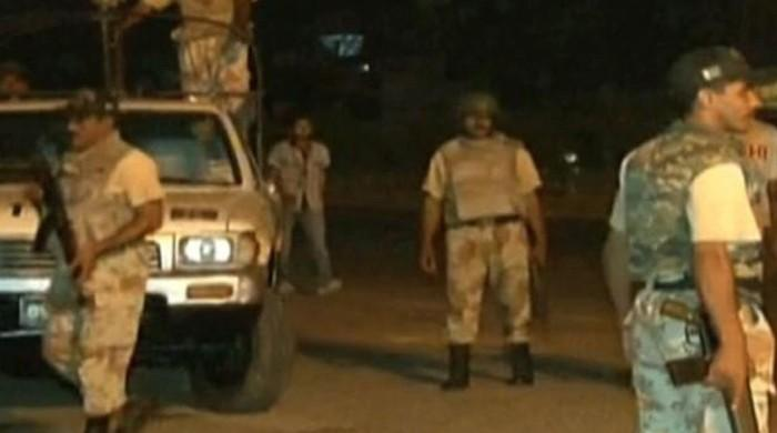LEAs detain two suspects near Azizabad in Karachi