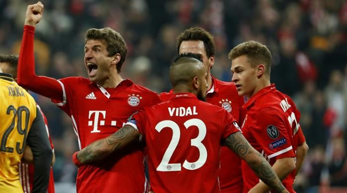 Whirlwind Bayern rout sorry Arsenal