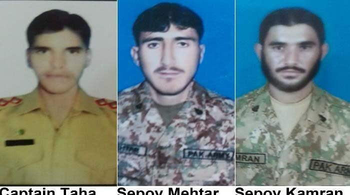 Three soldiers martyred in IED blast in Balochistan's Awaran