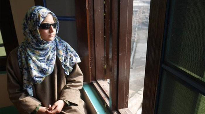 Blinded by pellet gun, teenage Kashmiri girl narrates Indian brutalities