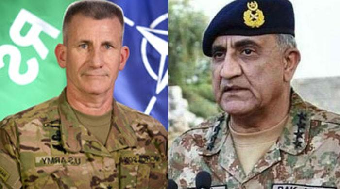 COAS asks RSM to stop use of Afghan soil for terrorist attacks in Pakistan
