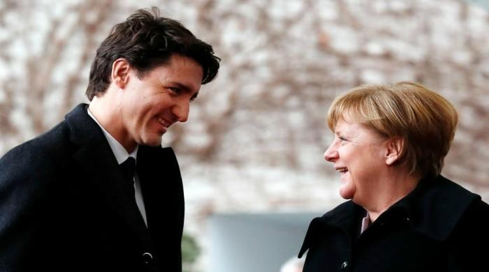 After Ivanka, Angela Merkel couldn't resist Justin Trudeau's charm