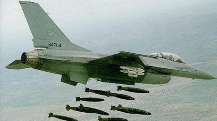 PAF jets bomb militant hideouts in NWA, several killed: ISPR