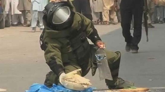 BDS clears suspicious bag found near Radio Pakistan building