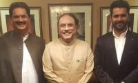 Nabil Gabol rejoins PPP after four years' estrangement