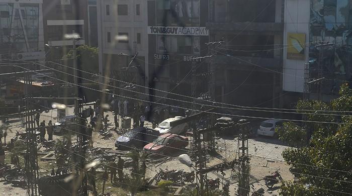 In pictures: Lahore Blast