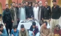 Over 500 suspects arrested in countrywide crackdown on terrorists