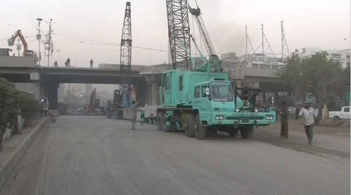 Nursery-Karsaz track of Shahra-e-Faisal in Karachi opens for traffic