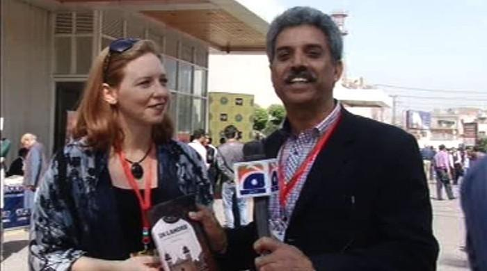 American author says Lahore Lahore Hai at LLF