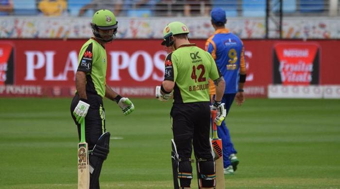 Tanvir, Rizwan lift Qalandars to 155
