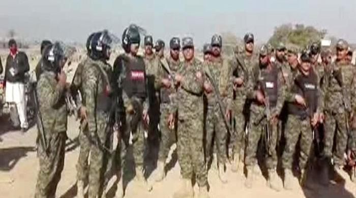 Rangers round up over 600 suspects in Punjab, says ISPR