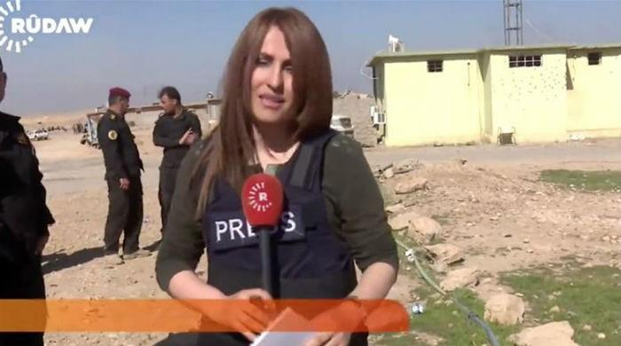 """Courageous"" Iraqi TV reporter Shifa Gardi killed in Mosul"