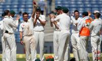 O'Keefe bags 12 wickets as Australia thrash India