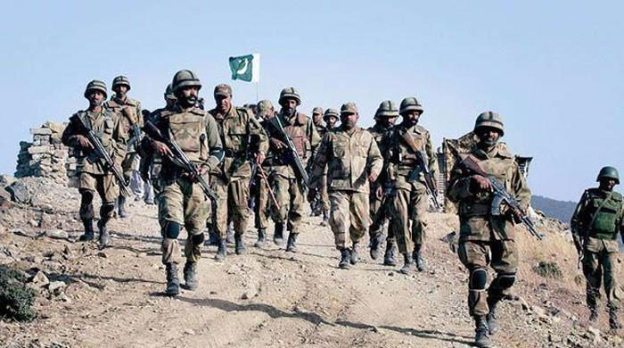 Arms and ammunition recovered from North Waziristan: ISPR