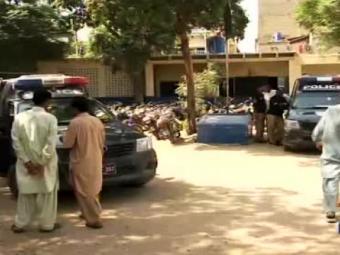 حیدرآباد:کروڑ پتی بن جانے والے پولیس کے سپاہی باپ بیٹا گرفتار