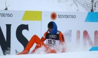 'World's worst skier' proud of his performance