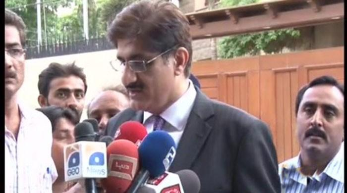 CM Murad leaves for Islamabad, promises to fight for Sindh