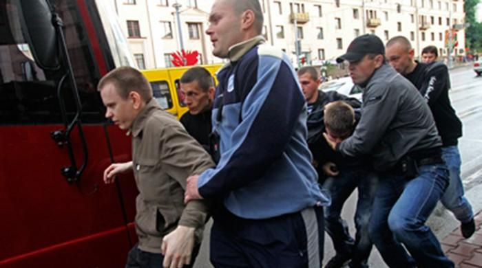 18 journalists and bloggers arrested while covering mass protests in Belarus