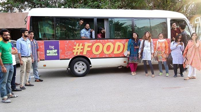 foodpanda goes on a Desi #FoodRun with TSG's SWOT-on-Wheels