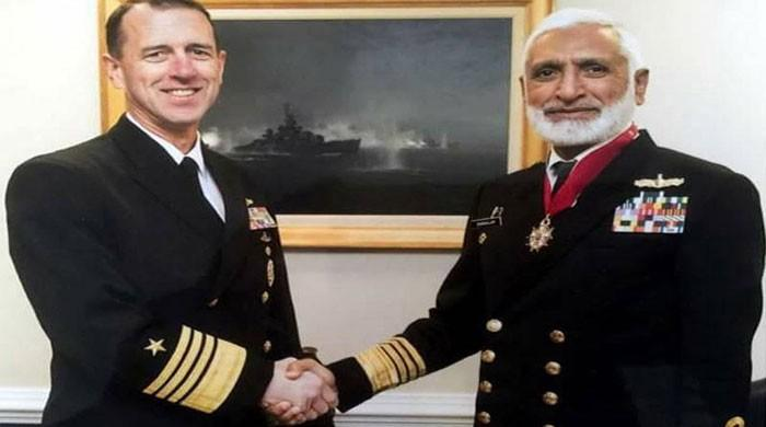 Naval Chief Admiral Zakaullah conferred US Legion of Merit