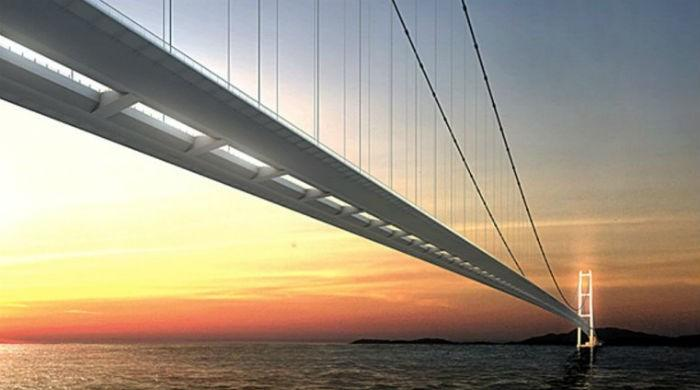 Turkey begins building ´world´s longest suspension bridge´