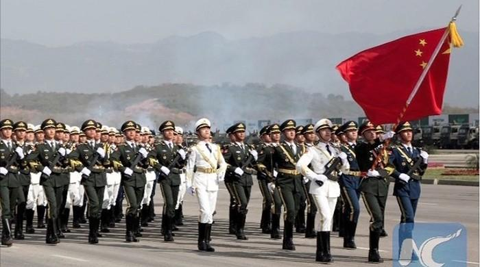 Pakistan Day Parade: Chinese troops arrive in Pakistan