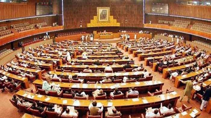 Military courts' extension bill presented in NA