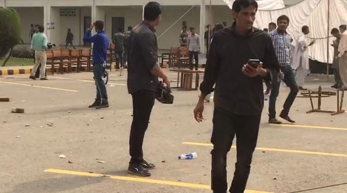 18 injured as IJT activists attack Punjab University cultural show