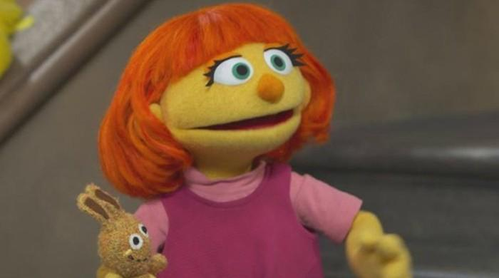 Julia first autistic muppet on Sesame Street