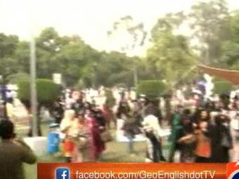 18 injured as IJT activists attack Punjab University cultural show 21-March-2017