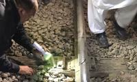 Two blasts damage rail track in Sindh, briefly delay trains