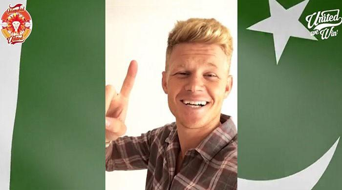 VIDEO: Islamabad United players wish a very Happy Pakistan Day