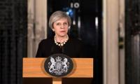 British PM May says terrorists will be defeated