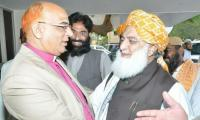 Bishop Nazir Alam joins JUI-F