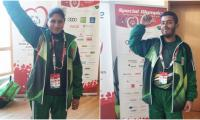 Pakistani athletes shine at Special Olympics World Winter Games, win several medals