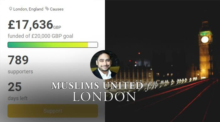Muslims raise over £17,000 for London attack victims, families