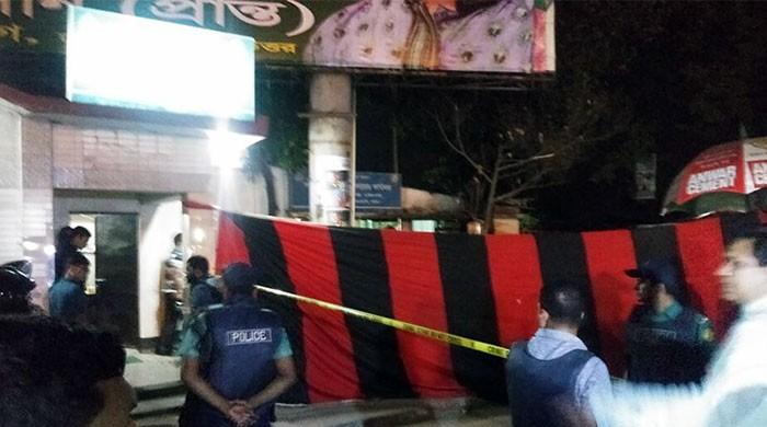 Suicide bomber blows himself up near Bangladesh airport, no casualties