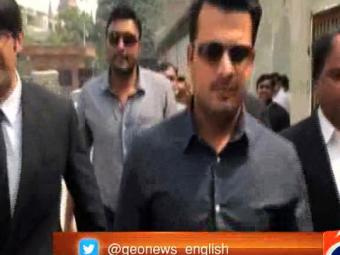Sharjeel Khan appears before PCB anti-corruption tribunal, informed of charges  24-March-2017