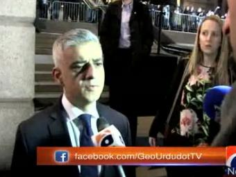 London mayor Sadiq Khan speaks to Geo News about the attack outside British parliament  24-March-2017