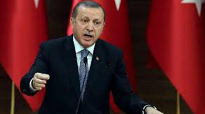 Erdogan says Turkey may hold referendum on EU accession bid