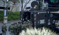 One killed on Las Vegas Strip, gunman barricades self: report